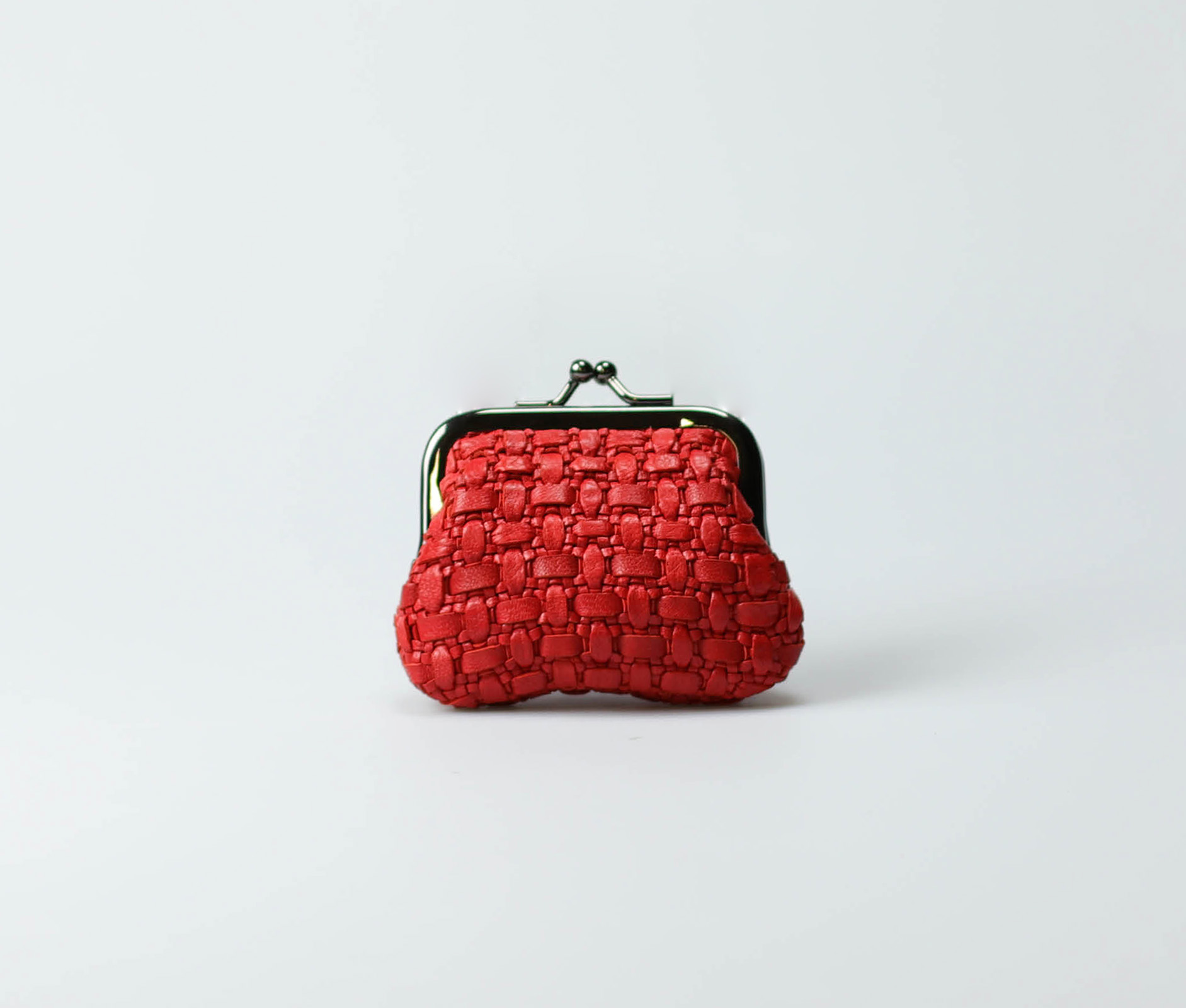red-women-classic-weave-coin-purse-tenu-tresse-1