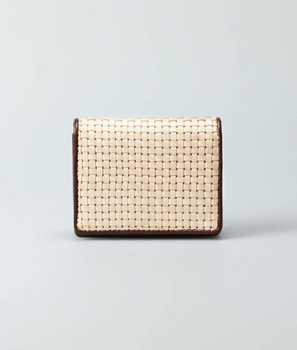 Women's Woven Leather Purse